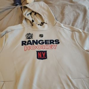 NY Rangers Winter Ckassic Hooded Sweatshirt